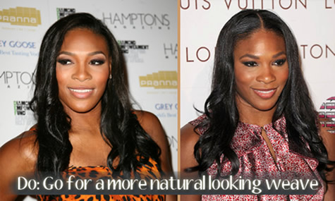 Best Celebrity Hair Trends of 2010: Natural Looking Weaves