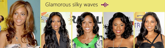 Glamorous silky waves